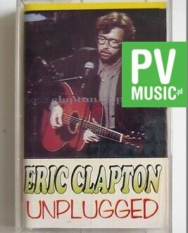 ERIC CLAPTON UNPLUGGED audio cassette