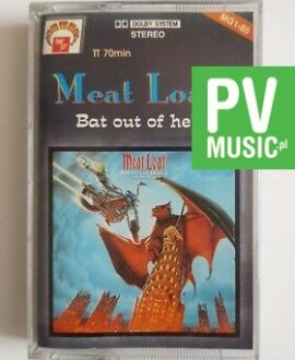 MEAT LOAF BAT OUT OF HELL II audio cassette