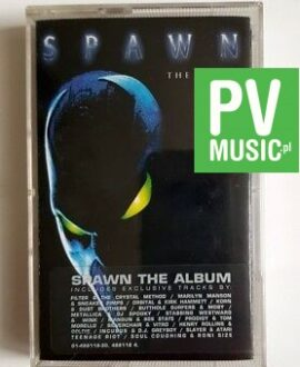 SPAWN THE ALBUM  audio cassette