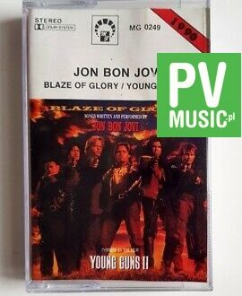 JON BON JOVI BLAZE OF GLORY audio cassette