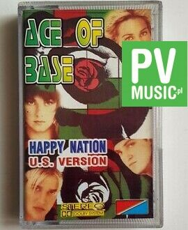 ACE OF BASE HAPPY NATION U.S. VERSION audio cassette