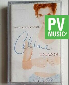 CELINE DION FALLING INTO YOU audio cassette