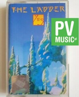 YES THE LADDER audio cassette
