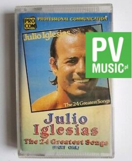 JULIO IGLESIAS TOP GREATEST SONGS 1 audio cassette