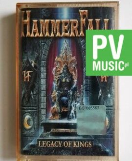 HAMMERFALL LEGACY OF KINGS audio cassette
