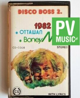 DISCO BOSS 2 BONEY M. , GOOMBAY DANCE.. audio cassette