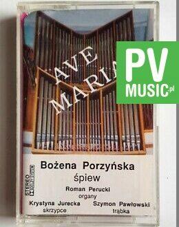 BOŻENA PORZYŃSKA AVE MARIA audio cassette