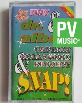 dr. ALBAN, SNAP.. REMIX audio cassette