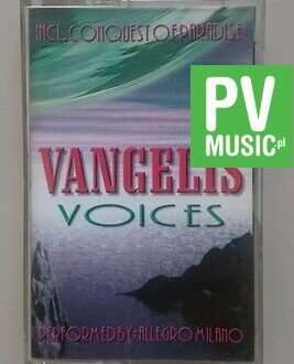 VANGELIS HITS OF BY ALLEGRO MILANO   audio cassette