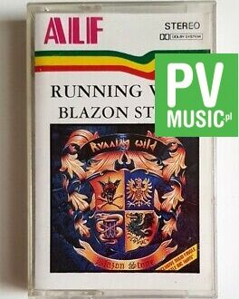 RUNNING WILD BLAZON STONE audio cassette