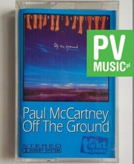 PAUL McCARTNEY OFF THE GROUND audio cassette