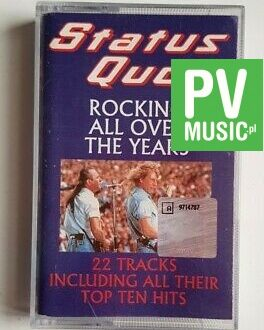 STATUS QUO ROCKIN ALL OVER THE YEARS audio cassette