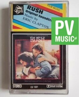 RUSH ORIGINAL SOUNDTRACK MUSIC BY ERIC CLAPTON** audio cassette