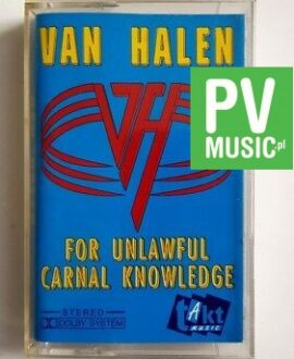 VAN HALEN FOR UNLAWFUL CARNAL KNOWLEDGE audio cassette