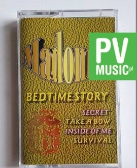 MADONNA BEDTIME STORY audio cassette