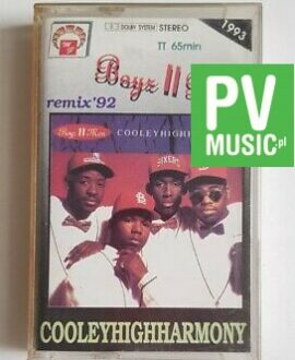 BOYZ II MEN COOLEYHIGHARMONY remixes audio cassette