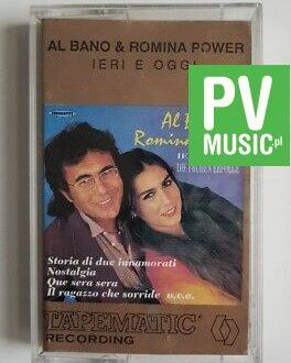 AL BANO & ROMINA POWER IERI E OGGI audio cassette