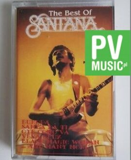 SANTANA THE BEST OF audio cassette