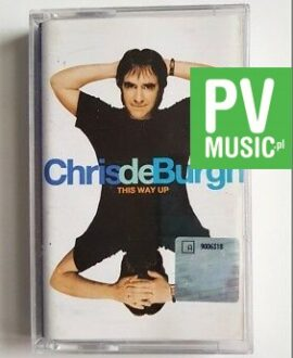 CHRIS DE BURGH THIS WAY UP audio cassette