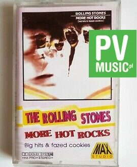 ROLLING STONES MORE HOT ROCKS audio cassette