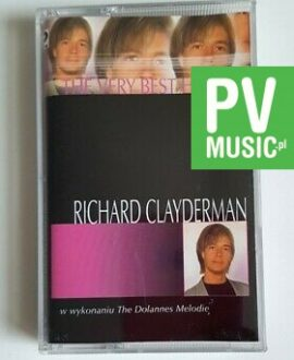 RICHARD CLAYDERMAN THE VERY BEST OF audio cassette