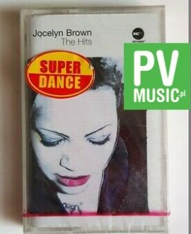 JOCELYN BROWN THE HITS audio cassette