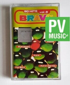 BRAVO vol.5 PUFF DADDY , AQUA.. audio cassette