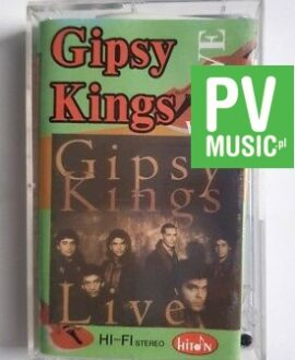 GIPSY KINGS LIVE II audio cassette