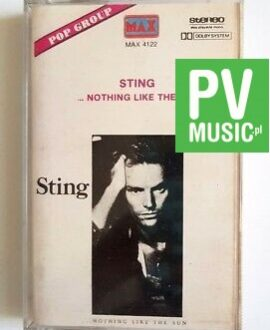 STING NOTHING LIKE THE SUN audio cassette