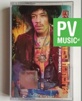 THE JIMI HENDRIX EXPERIENCE THE BEST OF audio cassette
