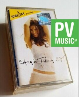 SHANIA TWAIN UP! 2xMC audio cassette
