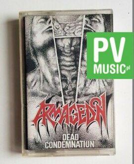 ARMAGEDON DEAD CONDEMNATION audio cassette