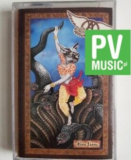 AEROSMITH NINE LIVES audio cassette