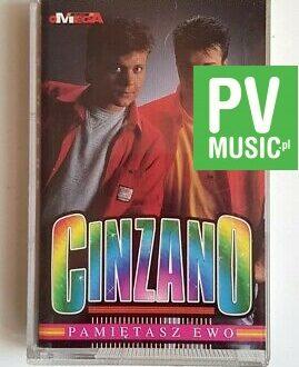 CINZANO PAMIĘTASZ EWO audio cassette