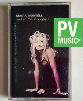 MARIA MONTELL AND SO THE STORY GOES... audio cassette