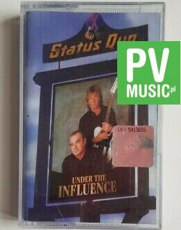 STATUS QUO UNDER THE INFLUENCE audio cassette
