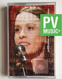 ALANIS MORISSETTE MTV UNPLUGGED audio cassette
