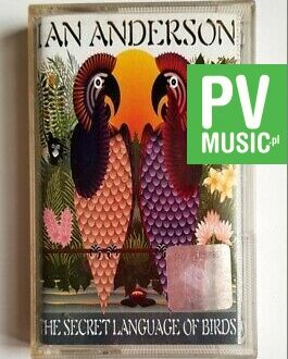 IAN ANDERSON THE SECRET LANGUAGE OF BIRDS audio cassette