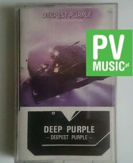 DEEP PURPLE  DEEPEST PURPLE    audio cassette