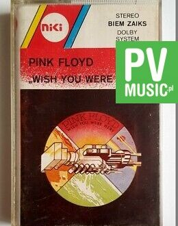 PINK FLOYD WISH YOU WERE HERE audio cassette