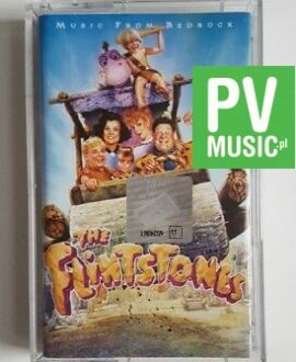 THE FLINTSTONES MUSIC FROM BEDROCK audio cassette