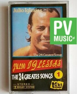 JULIO IGLESIAS THE 24 GREATEST SONGS 1 audio cassette
