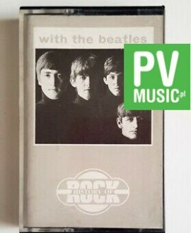THE BEATLES WITH THE BEATLES audio cassette