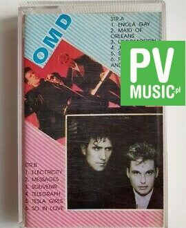 OMD ELECTRICITY, MESSAGES.. audio cassette