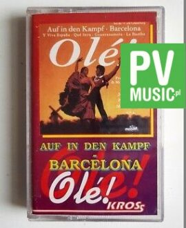 AUF IN DEN KAMPF BARCELONA audio cassette