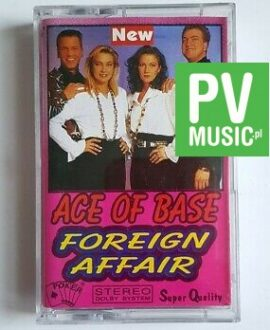 ACE OF BASE FOREIGN AFFAIR audio cassette