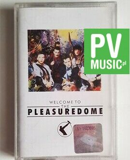 FRANKIE GOES TO HOLLYWOOD WELCOME TO PLEASURE DOME audio cassette