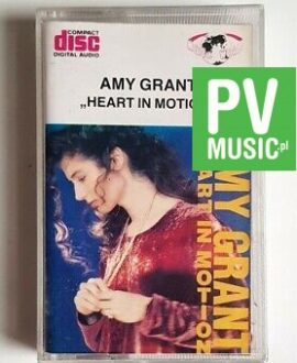 AMY GRANT HEART IN MOTION audio cassette