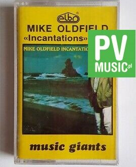 MIKE OLDFIELD INCANTATIONS vol.2 audio cassette