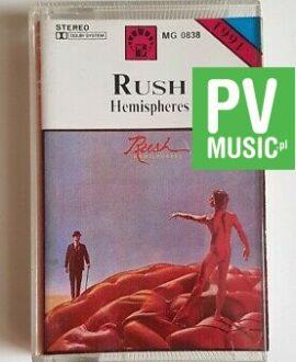 RUSH HEMISPHERES audio cassette